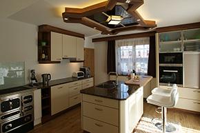 Gemütliche Küche einbauküchen aus tirol tischlerei hafner